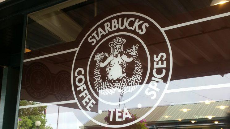 De eerste Starbucks