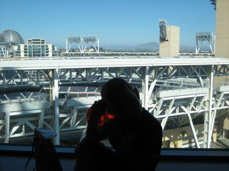 Omni Hotel, uitzicht vanuit de kamer