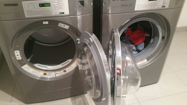 Wassen in hotels