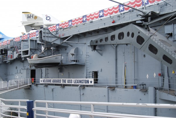 The USS Lexington