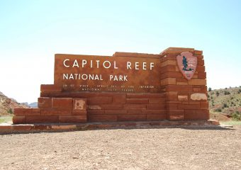 5 keer Capitol Reef National Park
