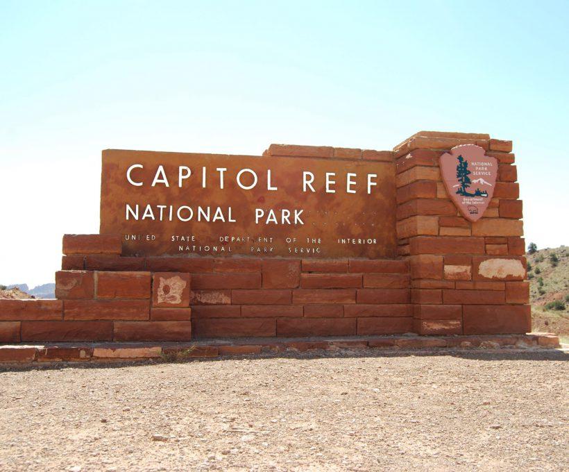 5 keer Capitol Reef National Park